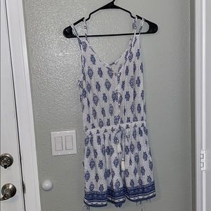 Women's Romper with Pockets